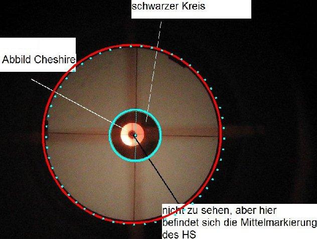 Justage mit laser: fs versetzt kein offset astronomie.de der