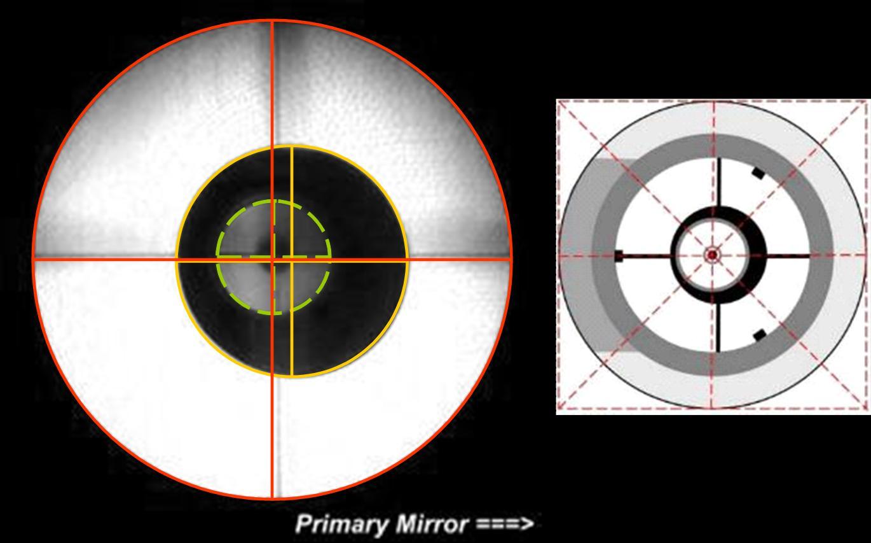 Justierung mit cheshire astronomie.de der treffpunkt für astronomie