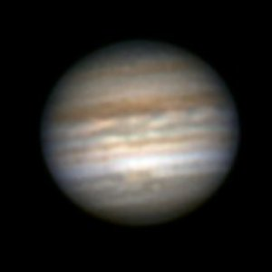 Jupiter vom 07.06.2007 mit Red Jr.