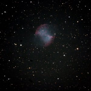 M27 - bei Vollmond unguided
