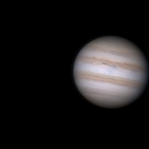 Jupiter & Ganymed am 27.11.15