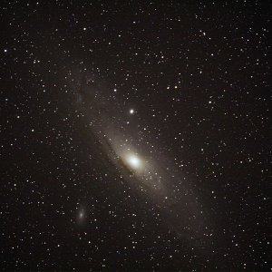 Andromeda Galaxie M31 mit EOS 50d