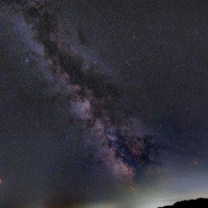 Die Milchstraße über dem Innviertel