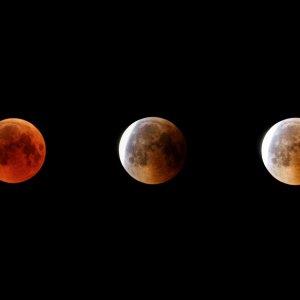Mein Beitrag zur Mondfinsternis