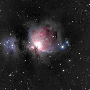 Orionnebel M42 - 1h45m Belichtungszeit