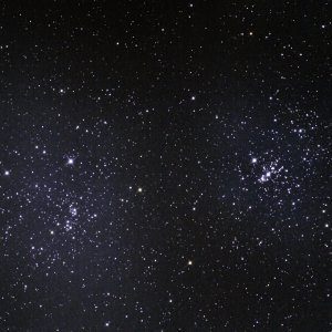 NGC 869+884 Double Cluster