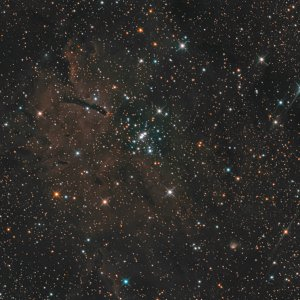 NGC 6823 eingebettet in SH2-86