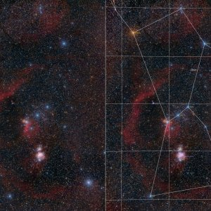Orion mit Barnards Loop
