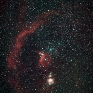 Orion: Barnard's Loop