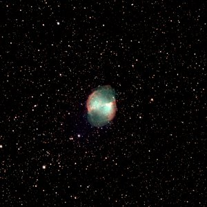 M27-Ausschnitt C11 Edge HD Hyperstar, L-pro-Filter
