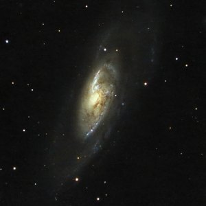 Livestacks: Messier 106 (140 Min. ohne Guiding)