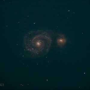 M 51 First Light