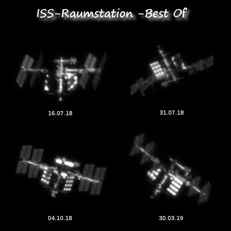 ISS - Raumstation - Best Of